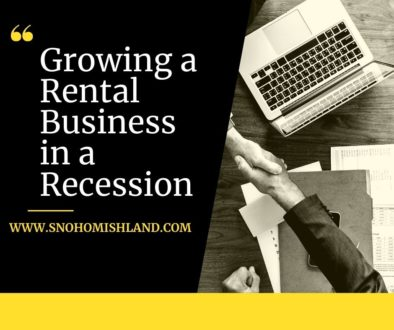 Growing a Rental Business in a Recession