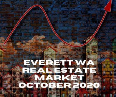 Everett WA Real Estate Market October 2020