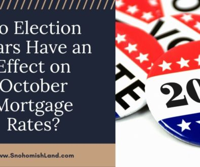 Do Election Years Have an Effect on October Mortgage Rates?