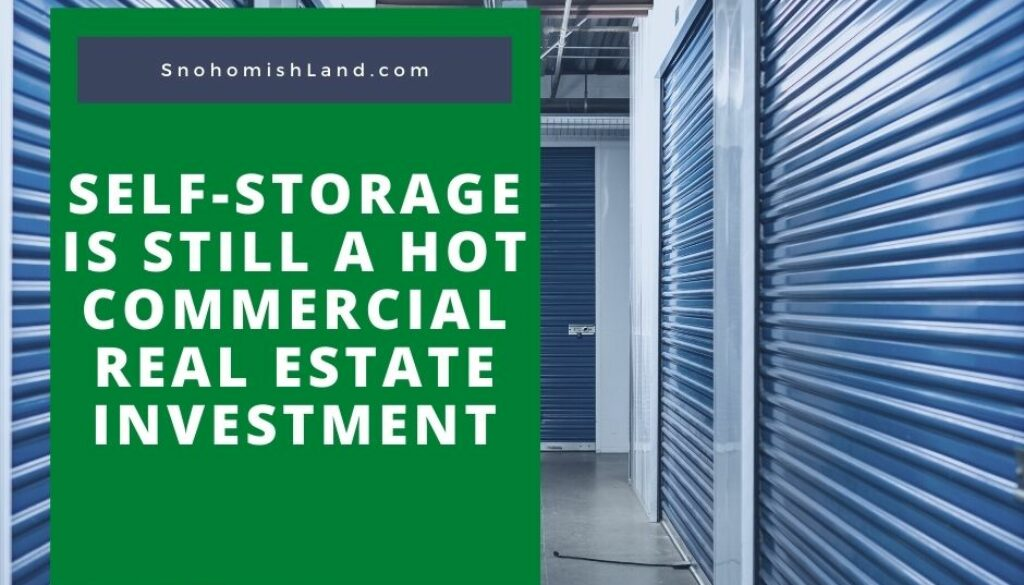 Self-Storage is Still a Hot Commercial Real Estate Investment